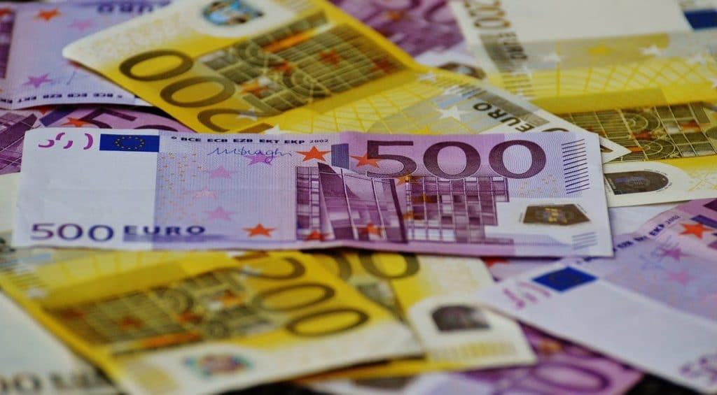 argent 500 euros