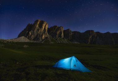 Des vacances au camping